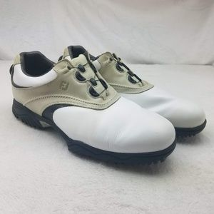 Footjoy Contour Golf Shoes Spikes 54196 13 XW